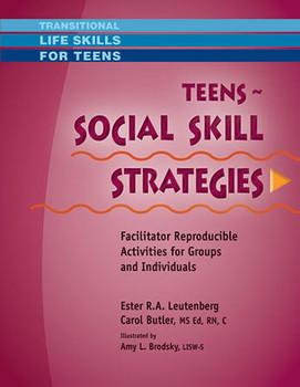 Book cover of  Teens Social Skill Strategies