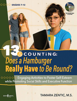 Book cover of  13 & Counting: Does a Hamburger Really Have to Be Round?