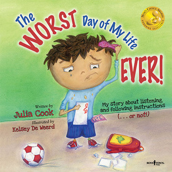 Book cover of  The Worst Day of My Life Ever!