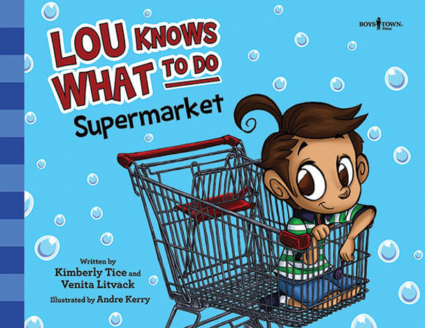 Book cover of  Lou knows What To Do: Supermarket