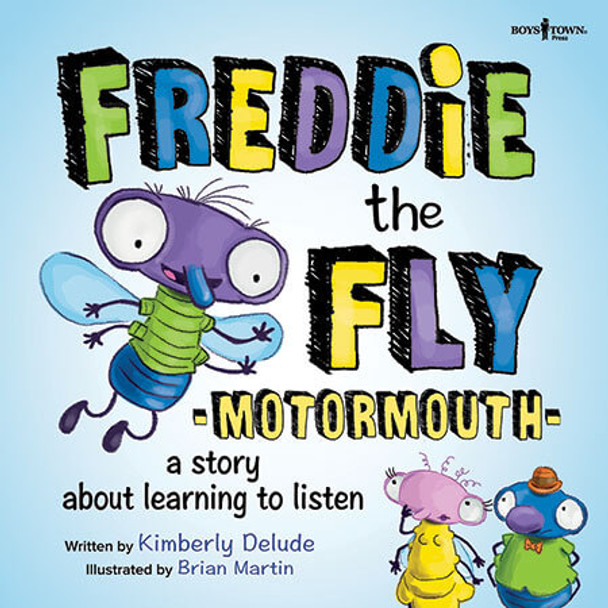 Book cover of  Freddie the Fly: Motormouth