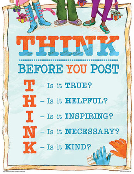 Downloadable THINK poster