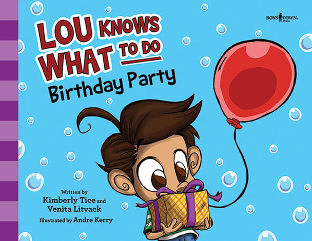 Book cover of  Lou Knows What to Do: Birthday Party