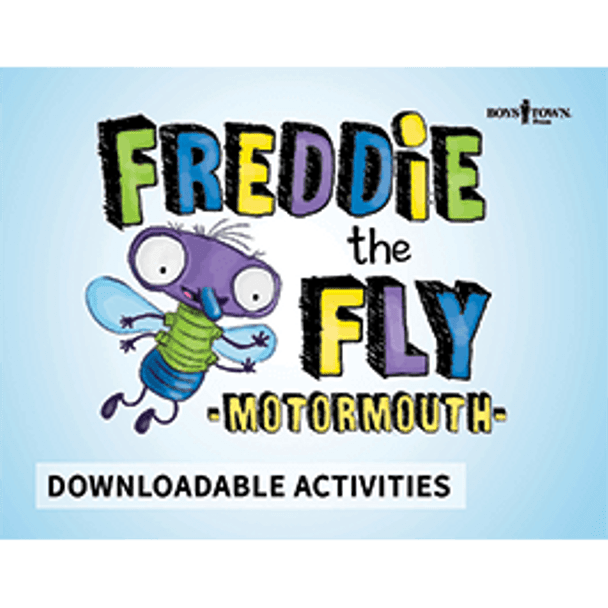 Downloadable Activities: Freddie the Fly - Motormouth