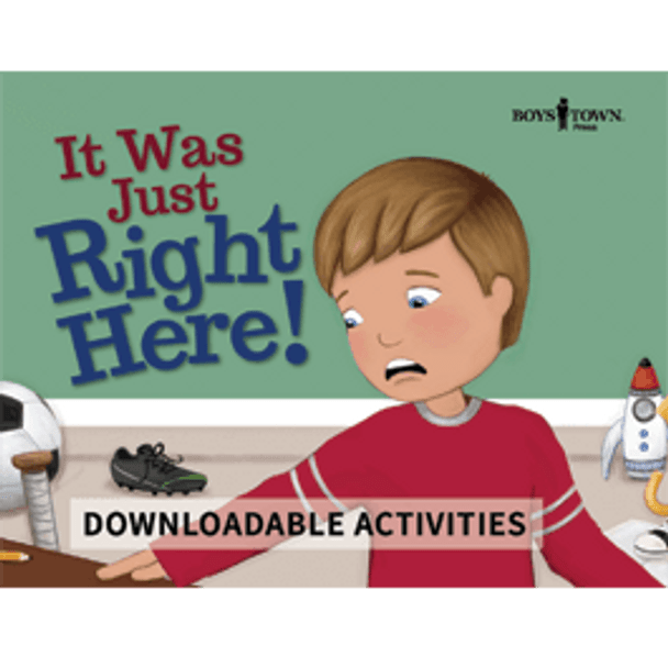 Downloadable Activities: It Was Just Right Here!