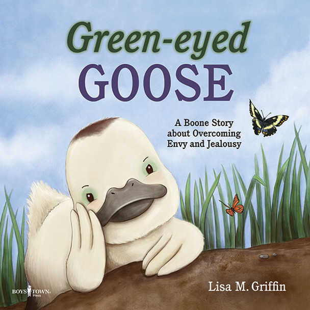 Book cover of  Green-Eyed Goose