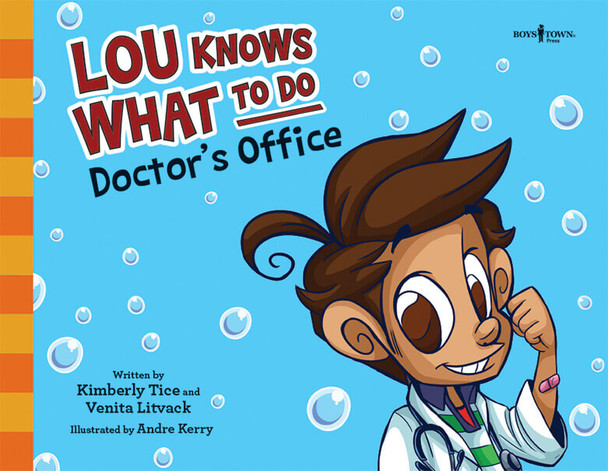 Book cover of  Lou Knows What to Do: Doctor's Office