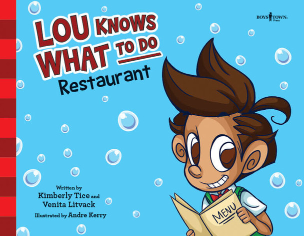 Book cover of  Lou Knows What to Do: Restaurant