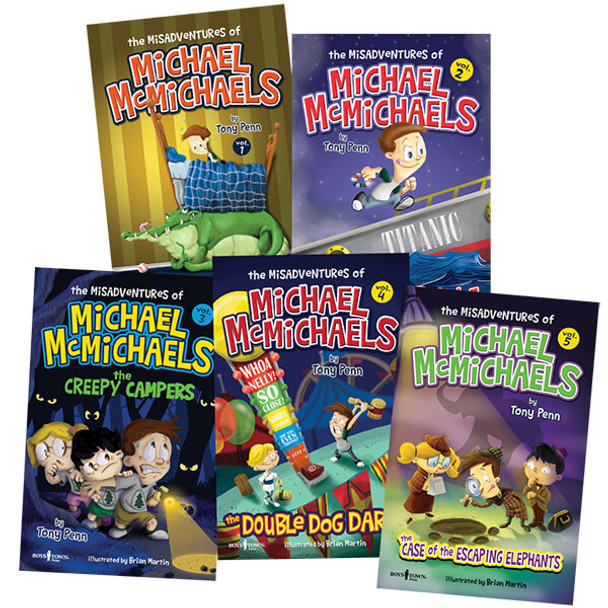 The Misadventures of Michael McMichaels Book Series, Vol. 1 - 5