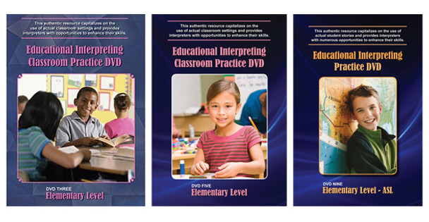Book cover of  Educational Interpreting Practice Bundle of DVDs