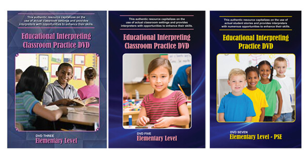 Book cover of  Elementary Level PSE DVD Bundle