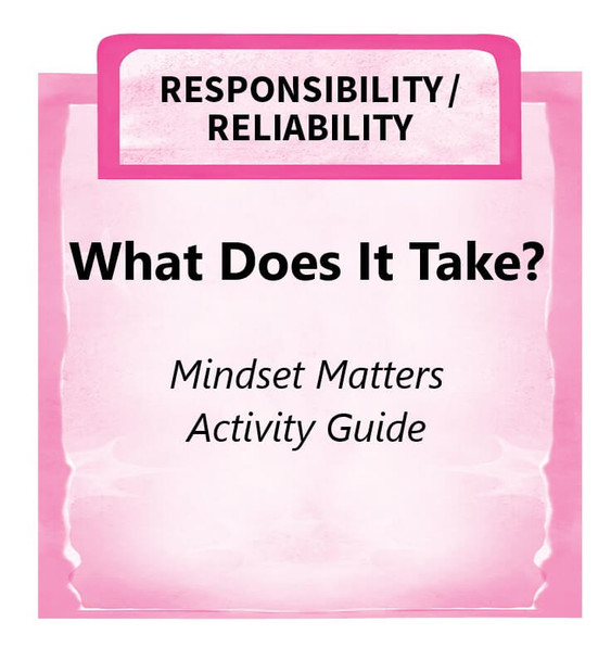 Downloadable Activity: What Does It Take? (Mindset Matters)