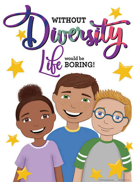 Downloadable Diversity Poster