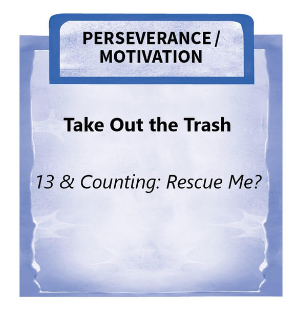 Downloadable Activity: Take Out the Trash, 13 & Counting: Rescue Me?