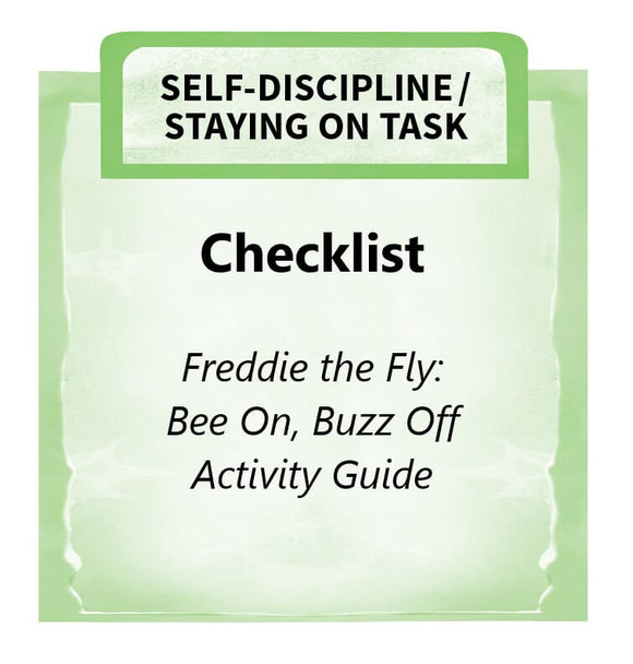 Downloadable Activity: Checklist, Freddie the Fly: Bee On, Buzz Off