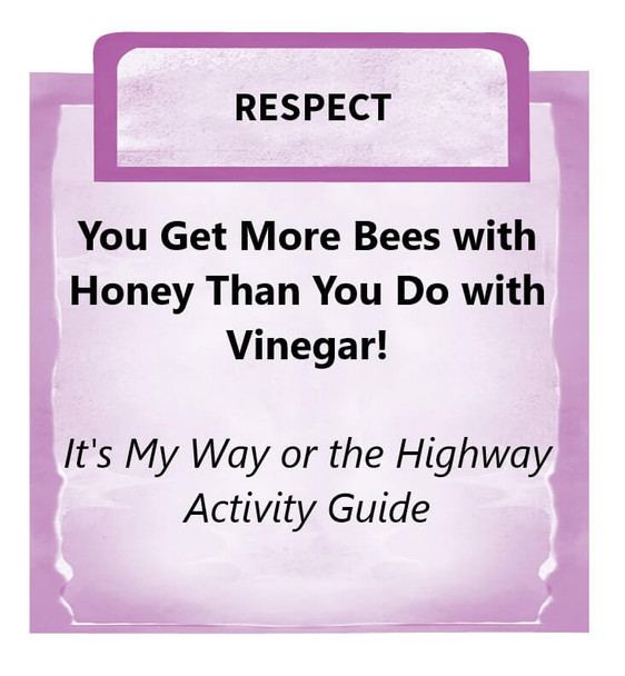 Downloadable Activity: You Get More Bees with Honey Than You Do with Vinegar! (It's My Way or the Highway)