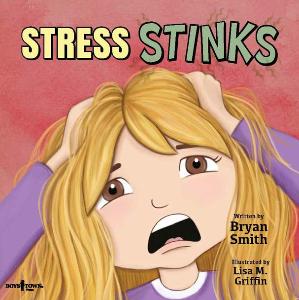 Book Cover of Stress Stinks