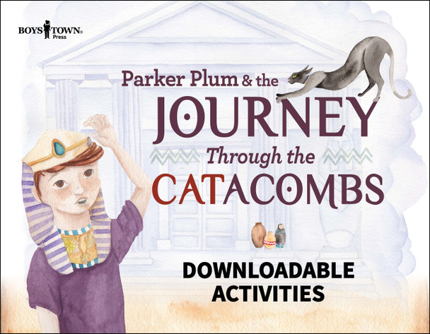 Downloadable Activities: Parker Plum and the Journey Through the CATacombs