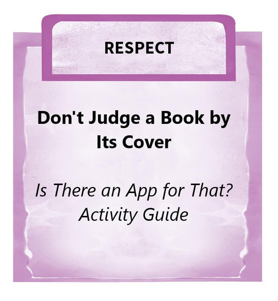Downloadable Activity Dont Judge A Book By Its Cover Is There An App For That