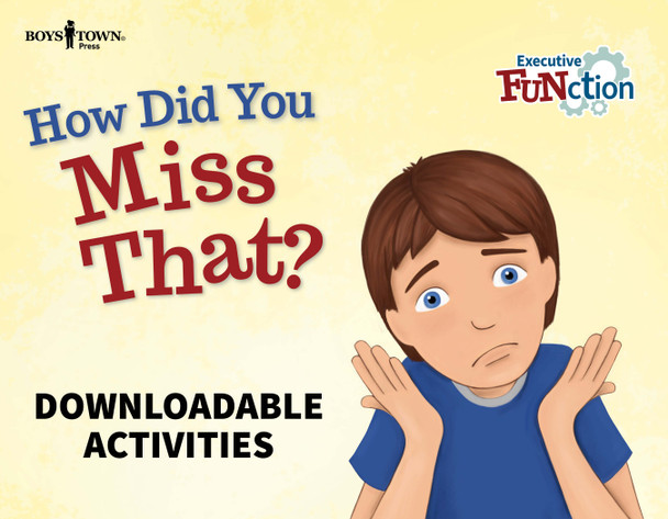 Downloadable Activities: How Did You Miss That?