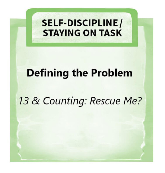 Downloadable Activity: Defining the Problem (13 & Counting: Rescue Me?)