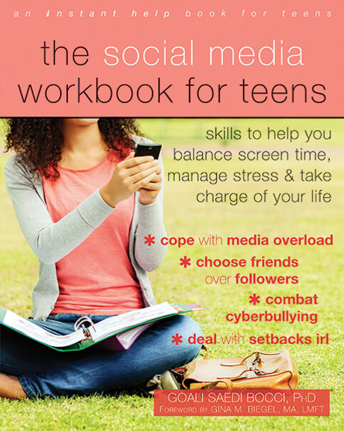 Book Cover of The Social Media Workbook for Teens