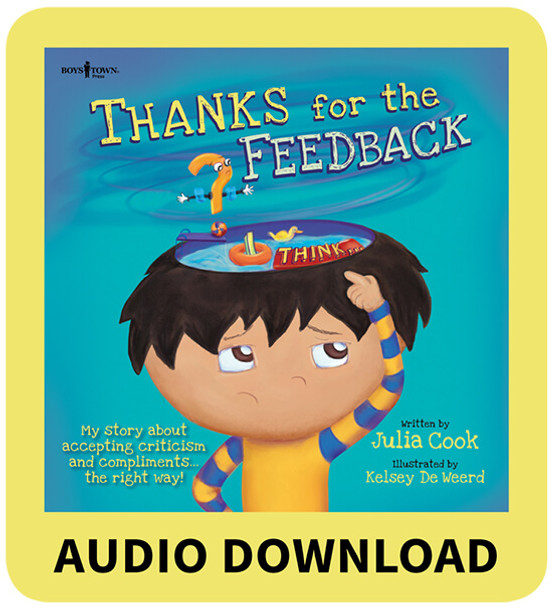 THANKS for the FEEDBACK...(I THINK!) Book with Audio Download