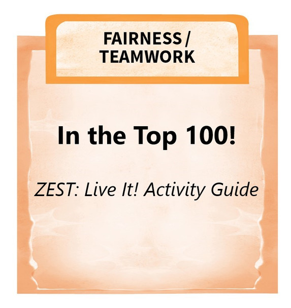 Downloadable Activity: In the Top 100! (ZEST: Live It!)