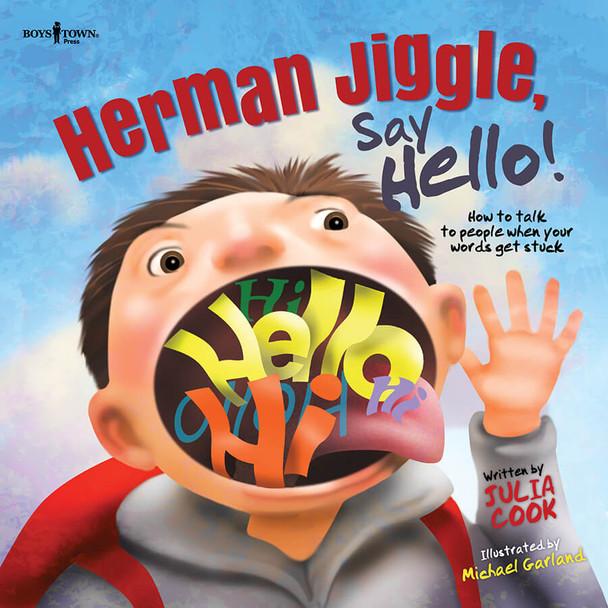 Book Cover of Herman Jiggle, Say Hello!