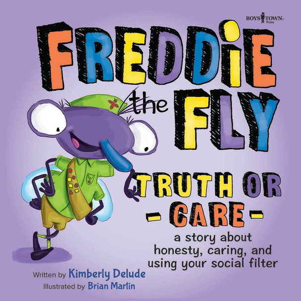 Book Cover of Freddie the Fly: Truth or Care