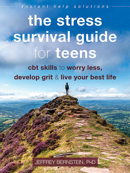 Book Cover of The Stress Survival Guide for Teens