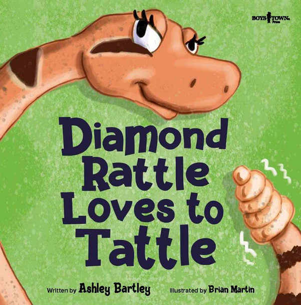 Book Cover of Diamond Rattle Loves to Tattle