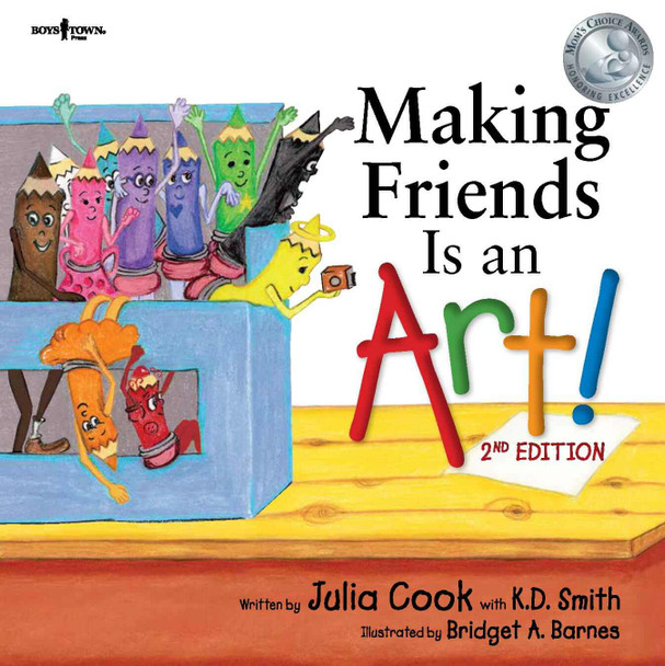 Book Cover of Making Friends Is an Art!, 2nd Edition
