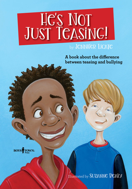 Book Cover of He's Not Just Teasing!
