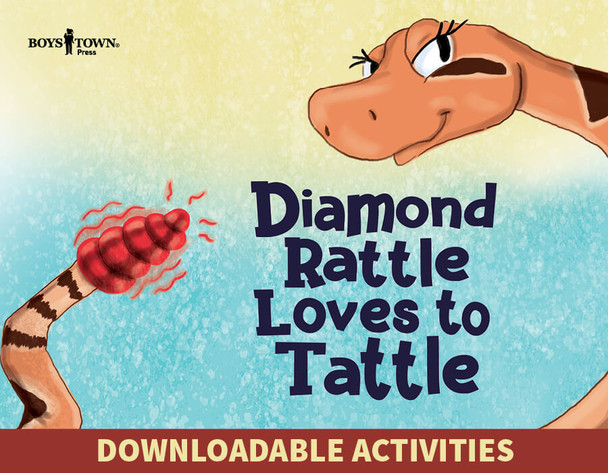 Downloadable Activities: Diamond Rattle Loves to Tattle