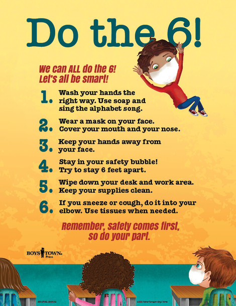 Downloadable Poster: Do the 6!