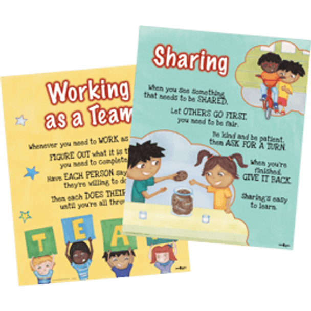 Downloadable Poster Set: TEAMWORK Isn't My Thing, and I Don't Like to SHARE! (2 Posters)