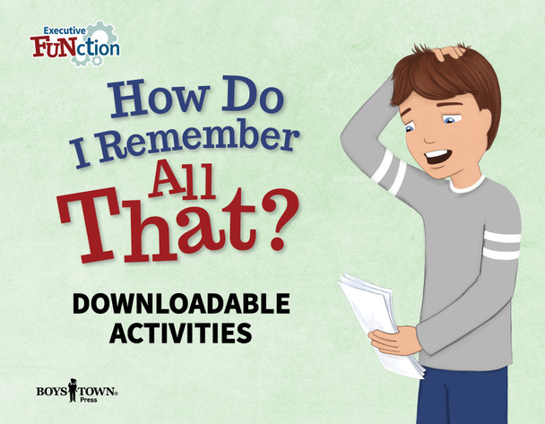 Downloadable Activities: How Do I Remember All That?