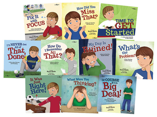 Executive FUNction Series Set of 10 Books