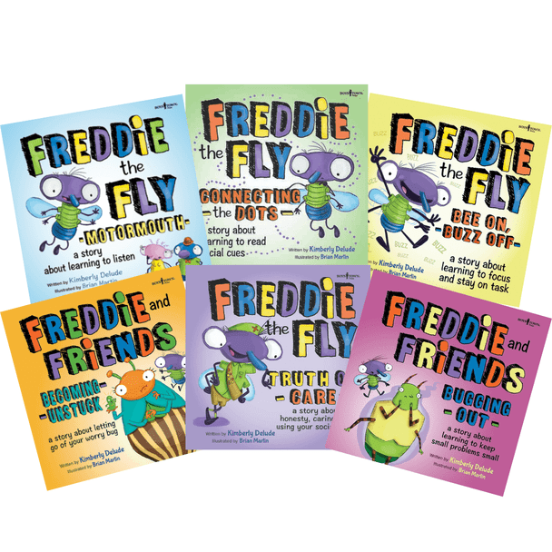 Freddie the Fly Set of 6 Storybooks