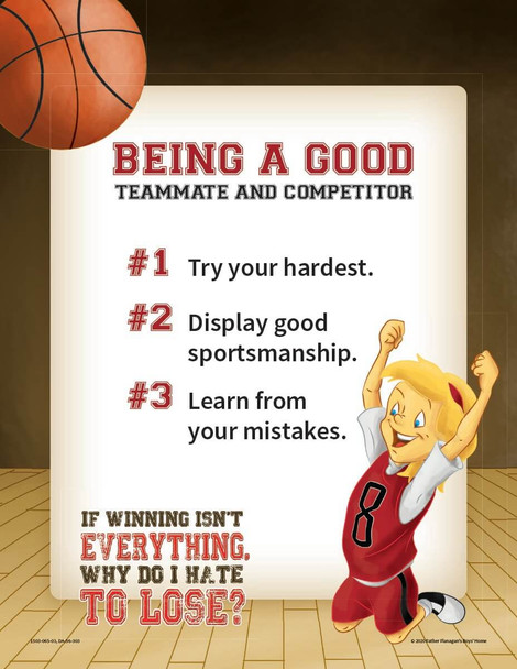 Downloadable Poster: If Winning Isn't Everything, Why Do I Hate to Lose?