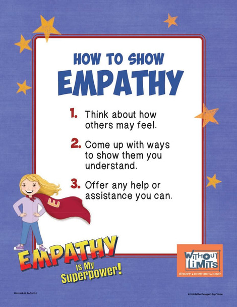 Downloadable Poster: Empathy is My Superpower!