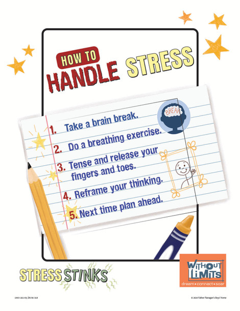 Downloadable Poster: Stress Stinks