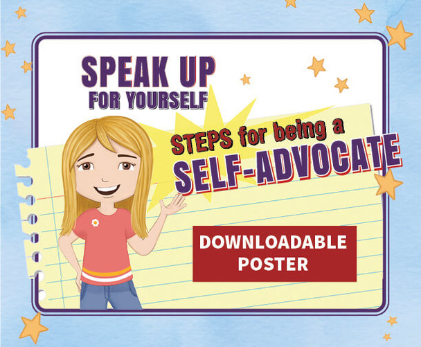 Downloadable Poster: Speak Up For Yourself