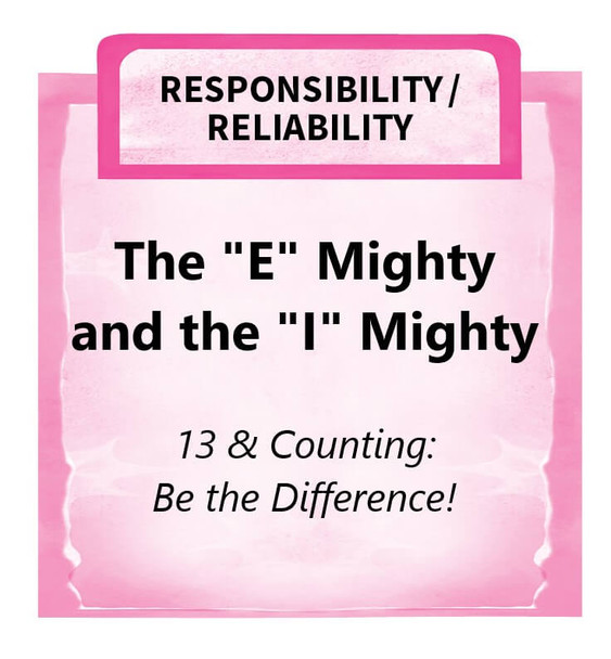 """Downloadable Activity: The """"E"""" Mighty and the """"I"""" Mighty (13 & Counting: Be the Difference!)"""