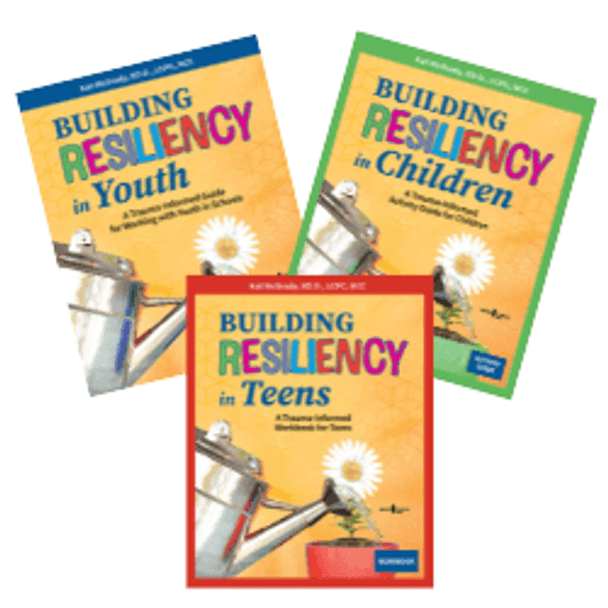 Book Cover of Building Resiliency in Youth Set of 3 Books