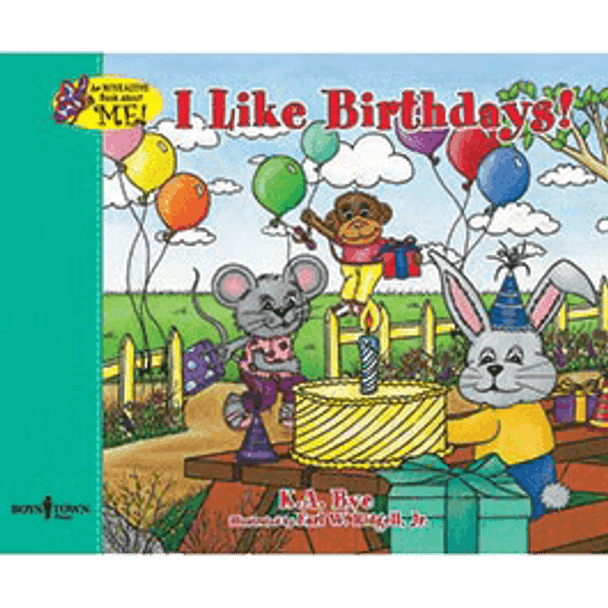 Book Cover of I Like Birthdays!