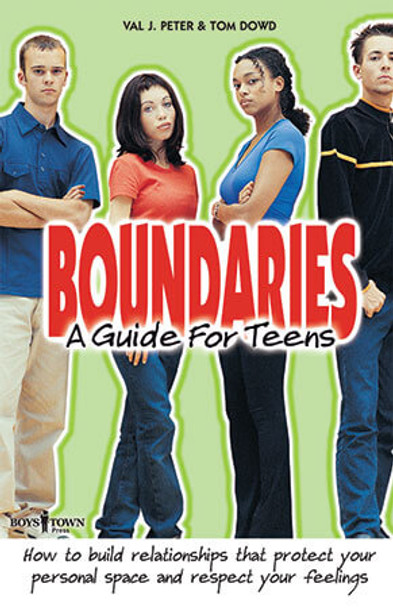 Book Cover of Boundaries: A Guide for Teens