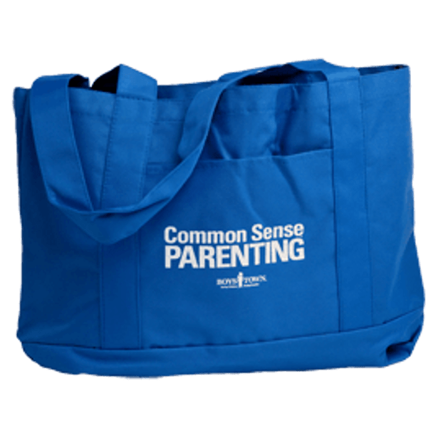 Common Sense Parenting Tote Bag