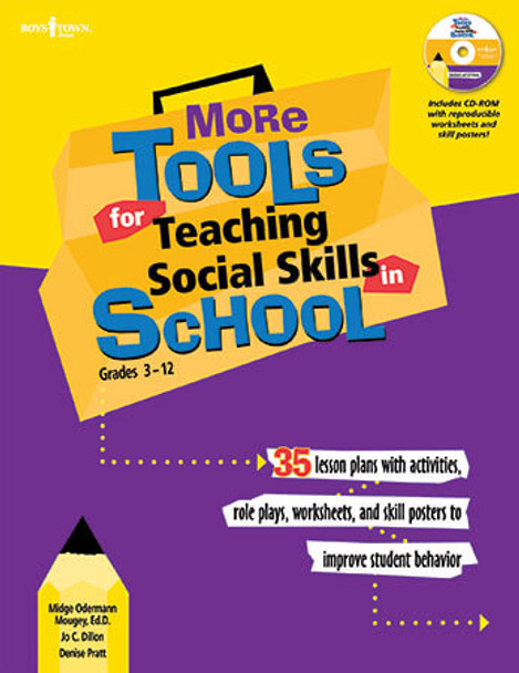 Book cover of  More Tools for Teaching Social Skills in School, Grades 3 - 13